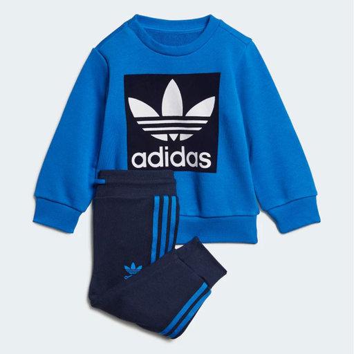 Sweatshirt Crew Neck Set, blå