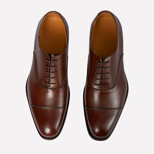 J.Lindeberg Classic Leather Grain Sneaker White 41