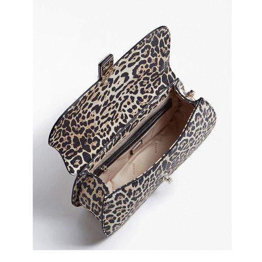 leopard väska åhlens