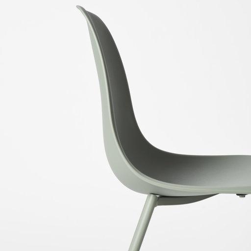 Stol, Uno 48 cm, ljusgrön