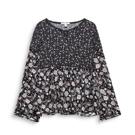 Blommig blus - Blusar   skjortor - Köp online på åhlens.se! 467be9b0a901a