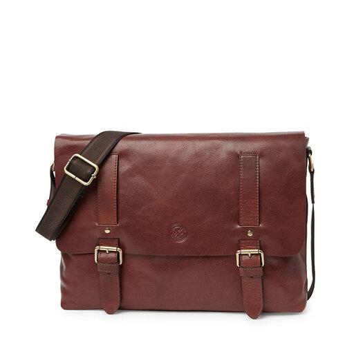 Ryan Messenger Bag, brun