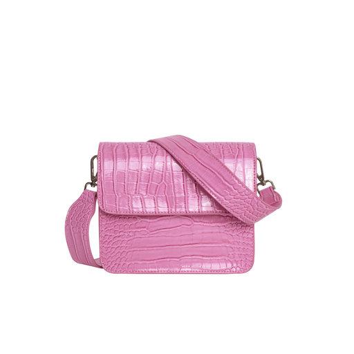 Cayman Shiny Strap Bag, lila