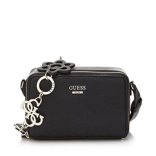 Handbag Dania Mini Crossbody Top Zip, svart