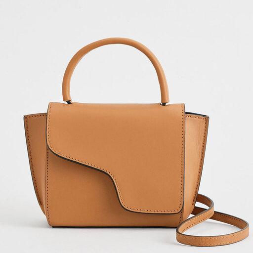 Montalcino Terra Mini Handbag, brun