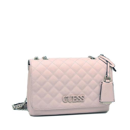 Elliana Convertible Xbody Flap Bag, rosa