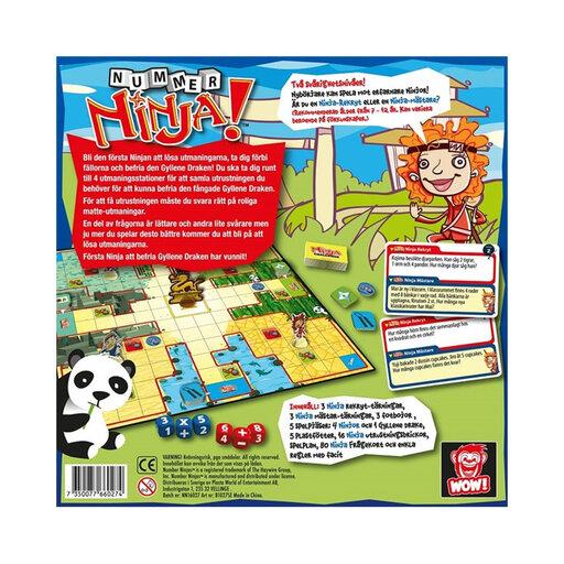 Sällskapsspel Nummer Ninja Spel & pussel Köp online på
