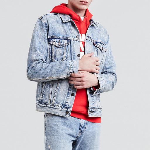 The Trucker Jacket Ytterplagg Köp online på åhlens.se!