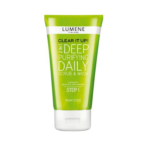 lumene face wash