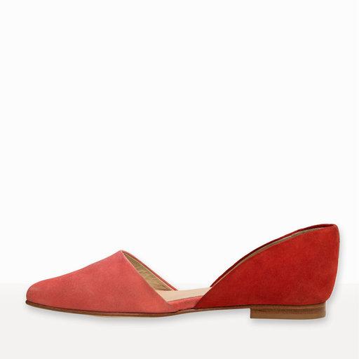Flat Sigrid, röd