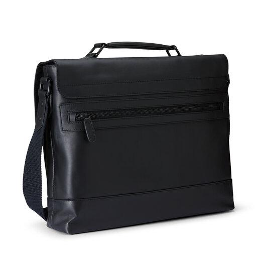 Väska i skinn, ONE SIZE, black