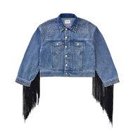 A Bonnie Denim Jacket, josephine blue