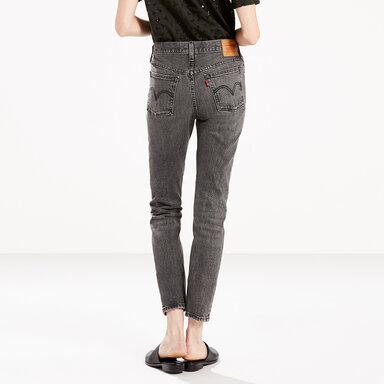 Levi/'s Womens 501 Skinny Jeans Black